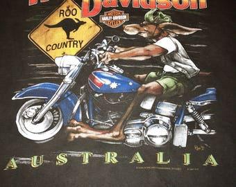 Vintage Harley Davidson Australia shirt