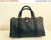 RESERVED FOR LISA / Gucci / 80s / Speedy / Gucci Boston Bag / Designer Handbags / Made in Italy