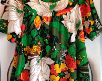 Vintage Hawaiian Tunic