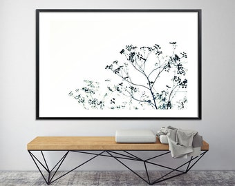 Large wall art, Large Canvas Print, Giclee Print up to 40X60, huge wall decor, tree decor, nature prints, minimalist poster, black and white
