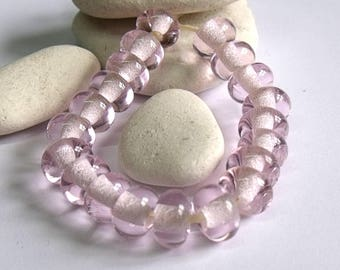 Passion, Lampwork Spacer Beads, SRA, UK