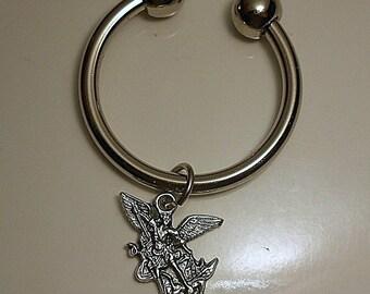 Archangel Saint Michael Keychain