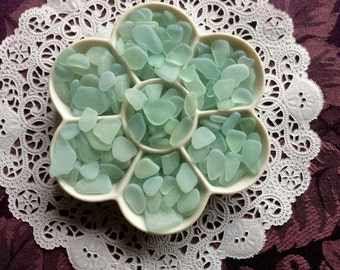FREE Shipping 6 oz. Sea Foam Pale Blue Sea Glass  RSF-F8-C