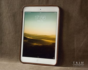 iPad Mini, iPad Air, iPad Pro Leather Case [Handmade] [Custom Colors]