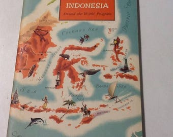 Around the World Program Guide vintage booklets
