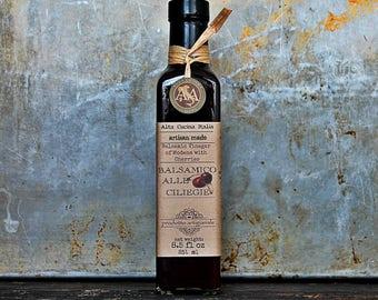 Balsamic Glaze - Cherry Balsamic Vinegar Reduction