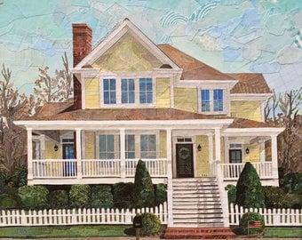 Custom Collage House Portrait