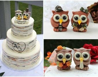 Camouflage wedding cake topper Etsy