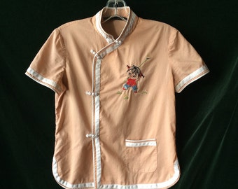 Vintage Marc Jacobs Embroidered Blouse Top