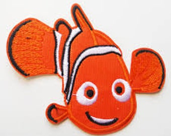 Nemo Iron On Patch - Finding Nemo Applique - Ready to Ship