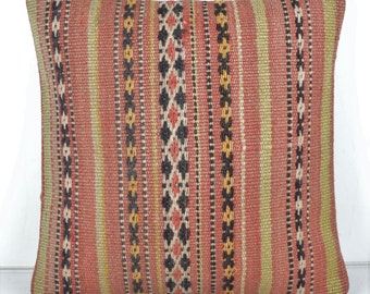 Kilim pillow cover, kp2072, Kilim Pillow, Turkish Pillow, Kilim Cushions, Kilim, Moroccan Pillow, Bohemian Pillow, Turkish Kilim