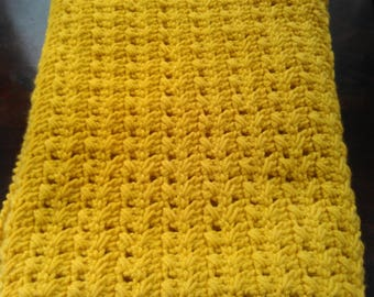 Sunflower Gold Afghan