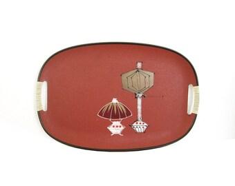 Vintage Serving Tray, Lamps Design, Tilso Japan