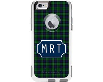 Tartan Cabana Personalized Custom Otterbox Commuter Case for iPhone 6 and iPhone 6s