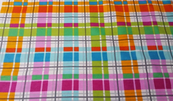Cotton Fleece Throw From Germany