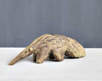 Tremar Pottery Anteater - Pottery Anteater - Tremar Cornwall - Vintage Pottery Anteater - Tremar Safari Range