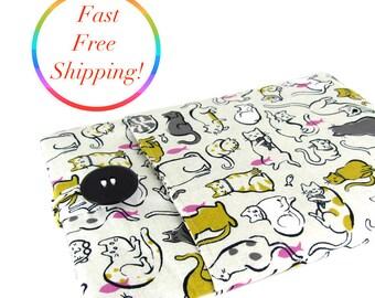 Cat iPad Mini Case, iPad Mini 2 Case, iPad Mini 4 Case, iPad Mini Sleeve, iPad Mini Cover, iPad Mini 2 Case, iPad Mini 2 Sleeve