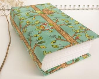 Hardcover Handmade Baby Book, Journal - Blank Journal, Hardcover Journal, Blank Baby Book