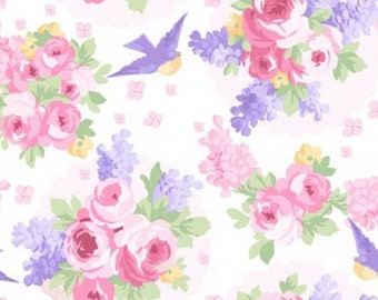 Clothworks - Fidelia - Rose & Bird