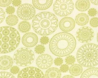 Moda - Fat Quarter - Wishes - Green bauble