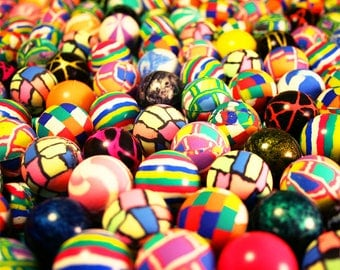 Photo Print Original - Bounce Balls