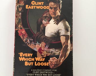 Every Which Way But Loose with Clint Eastwood (VHS)