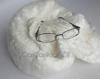 Mulberry Silk laps or silk lap sheets, big silk hankies for felting, for  batt making 1 pound. Best price!
