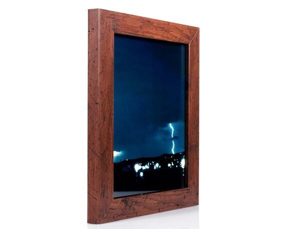 Craig Frames 24x36 Inch Modern Dark Walnut Picture Frame