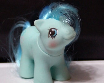 My Little Pony G1 Newborn Twin Noodles ABC blue