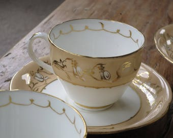 Antique china tea cup and saucer set