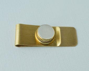 Trumpet Key Money Clip