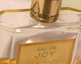 Vintage Jean Patou Eau de Joy bottle