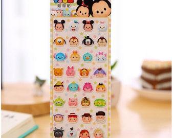 Diary Scrapbook Label Sticker Disney Tsum Little