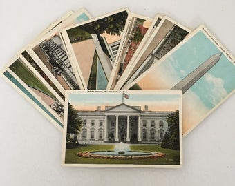 SALE // Washington DC postcards
