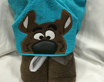 Scooby Hooded Towel