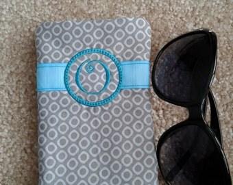 Eye glass case, eyeglass holder, Sunglasses - O
