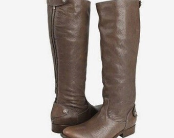 Leather Riding Boots  6 1/2