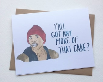 Tyrone Biggums Card// Dave Chappelle