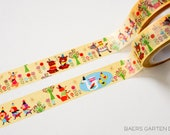 Washi Tape Vintage Critters