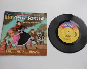 Mary Poppins Read-Along Book and Record