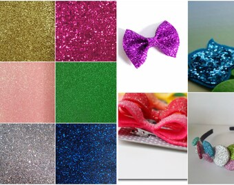 Glitter Felt Square