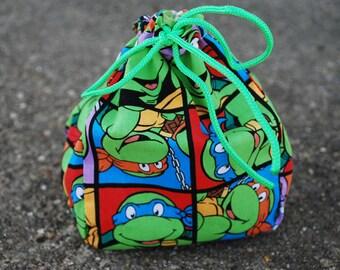 Ninja Turtle Dice Bag