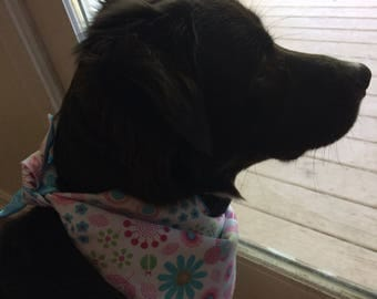 Disney Minnie Mouse themed personalized doggie bandana