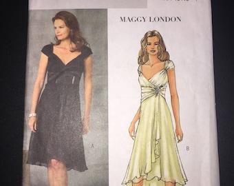 Butterick Sewing Pattern 4657 Uncut Misses Dress Size 14-20