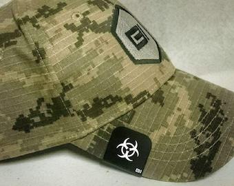 Brim-It Hat Clip- Biohazard