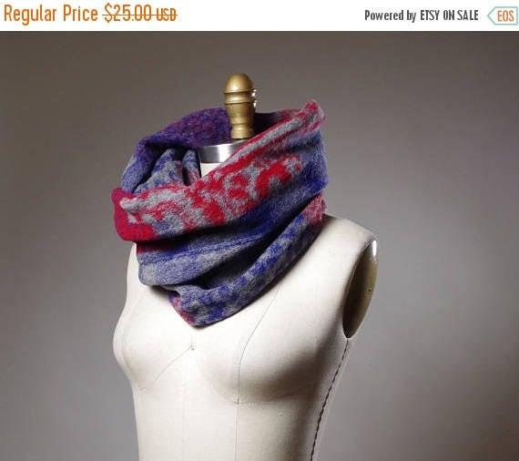 SUMMER SALE Infinity Long Scarf - Plaid Cozy Scarf - Women's Long Scarf - Winter Scarves