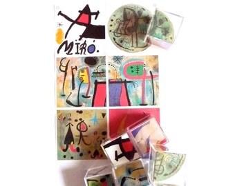 Miro Cubo Puzzle Joan Miro Art