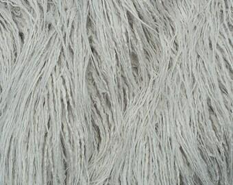 Fake Faux Fur Curly Yak Vapor 58 Inch Wide Fabric by the Yard, 1 yard