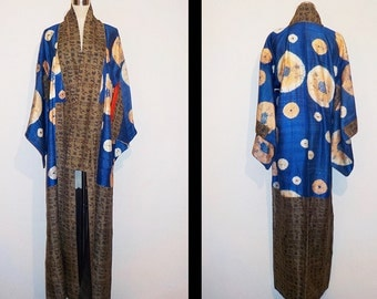 Antique kimono - Shibori, Early Taisyo era, Collectors