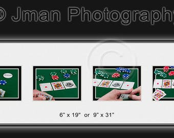 Texas Hold 'Em  - Ready To Hang Wall Art